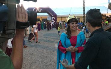 Ferro coordina la Flashmob Medieval en las Enduro World Series 2018