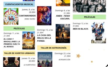 TODA LA PROGRAMACIÓN DEL CINEMA USERA